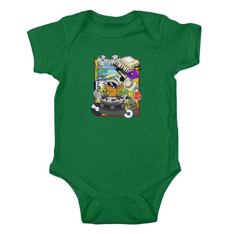 BEAT DUMPS. Kids Baby Bodysuit by Shadeprint's Artist Shop