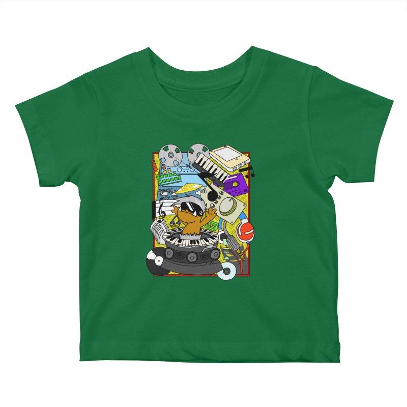 BEAT DUMPS. Kids Baby T-Shirt by Shadeprint's Artist Shop