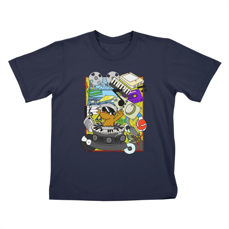 BEAT DUMPS. Kids T-Shirt by Shadeprint's Artist Shop