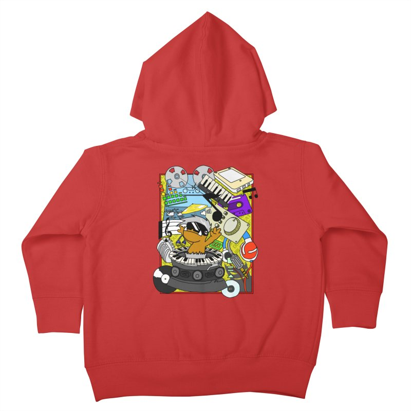 BEAT DUMPS. Kids Toddler Zip-Up Hoody by Shadeprint's Artist Shop