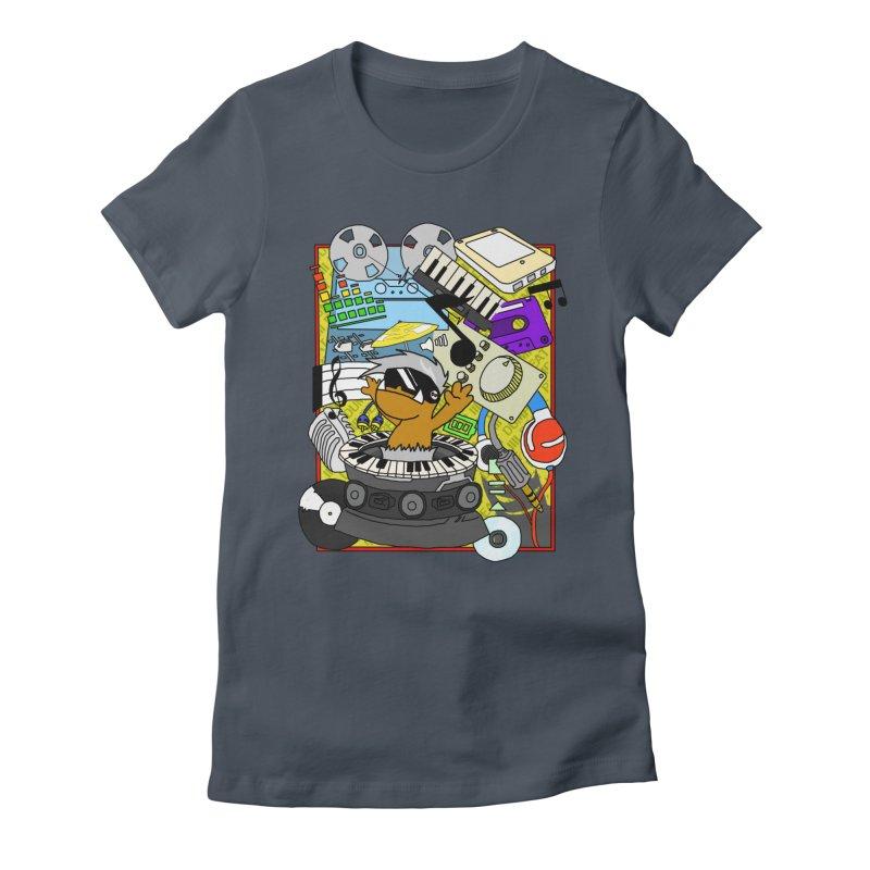 BEAT DUMPS. Women's T-Shirt by Shadeprint's Artist Shop