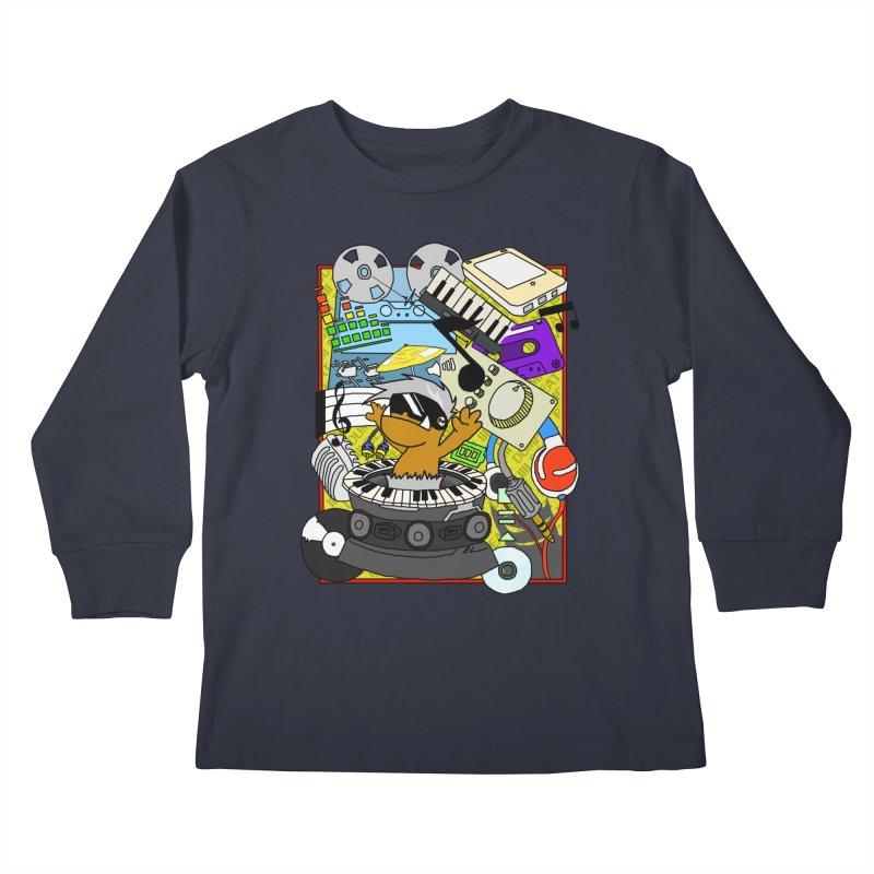 BEAT DUMPS. Kids Longsleeve T-Shirt by Shadeprint's Artist Shop
