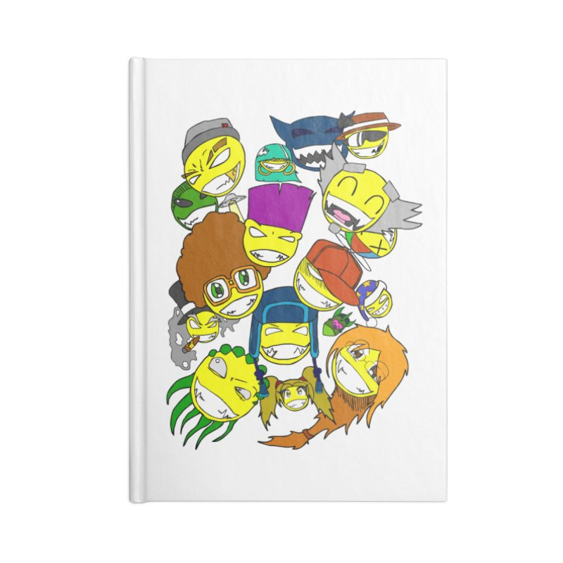ALL SMILES! Accessories Blank Journal Notebook by Shadeprint's Artist Shop