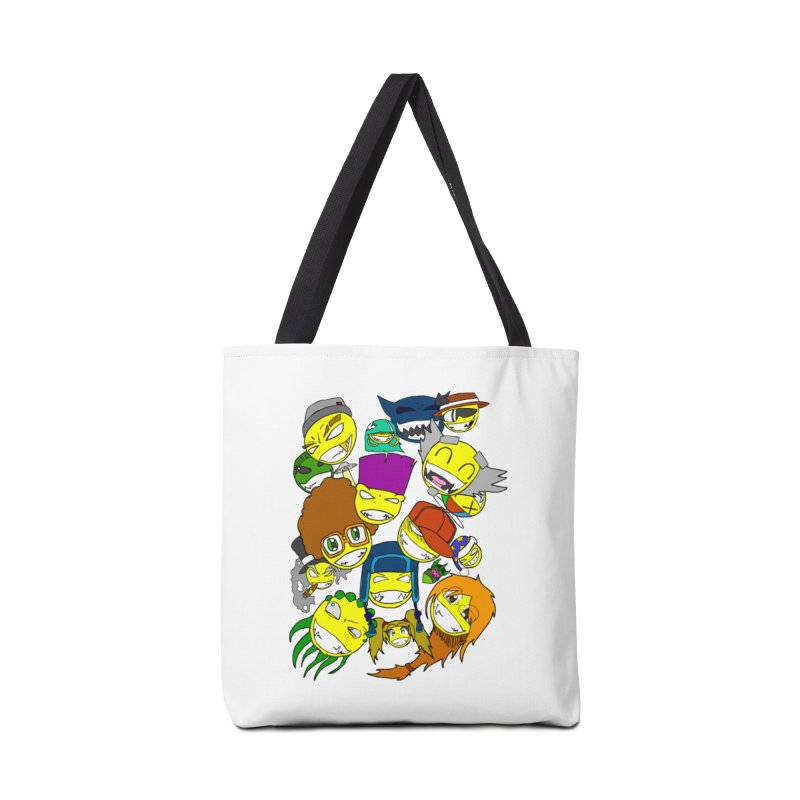 ALL SMILES! Accessories Tote Bag Bag by Shadeprint's Artist Shop