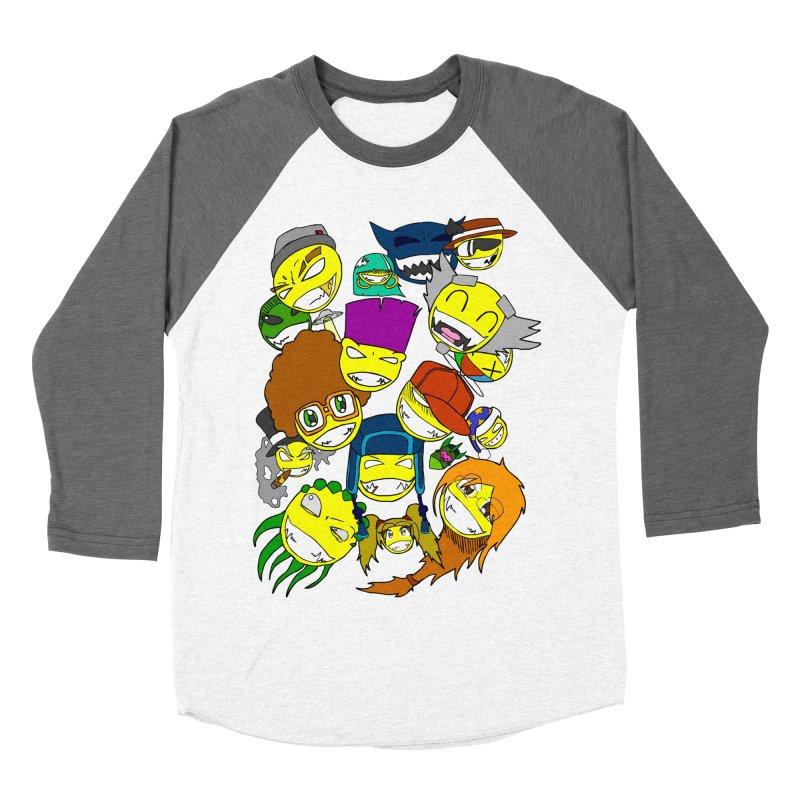 ALL SMILES! Women's Baseball Triblend Longsleeve T-Shirt by Shadeprint's Artist Shop