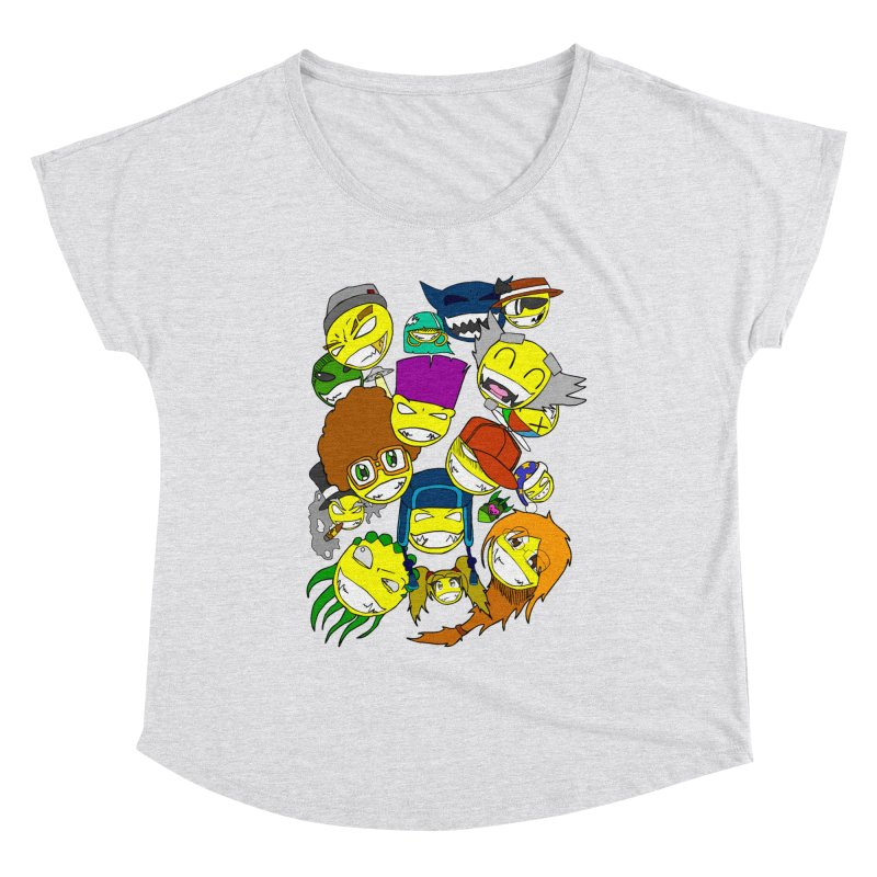 ALL SMILES! Women's Scoop Neck by Shadeprint's Artist Shop