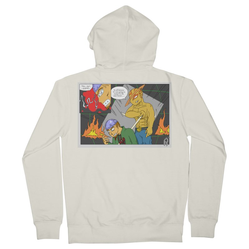 Ensurance: Eternal Grief. Ep.1. Men's French Terry Zip-Up Hoody by Shadeprint's Artist Shop