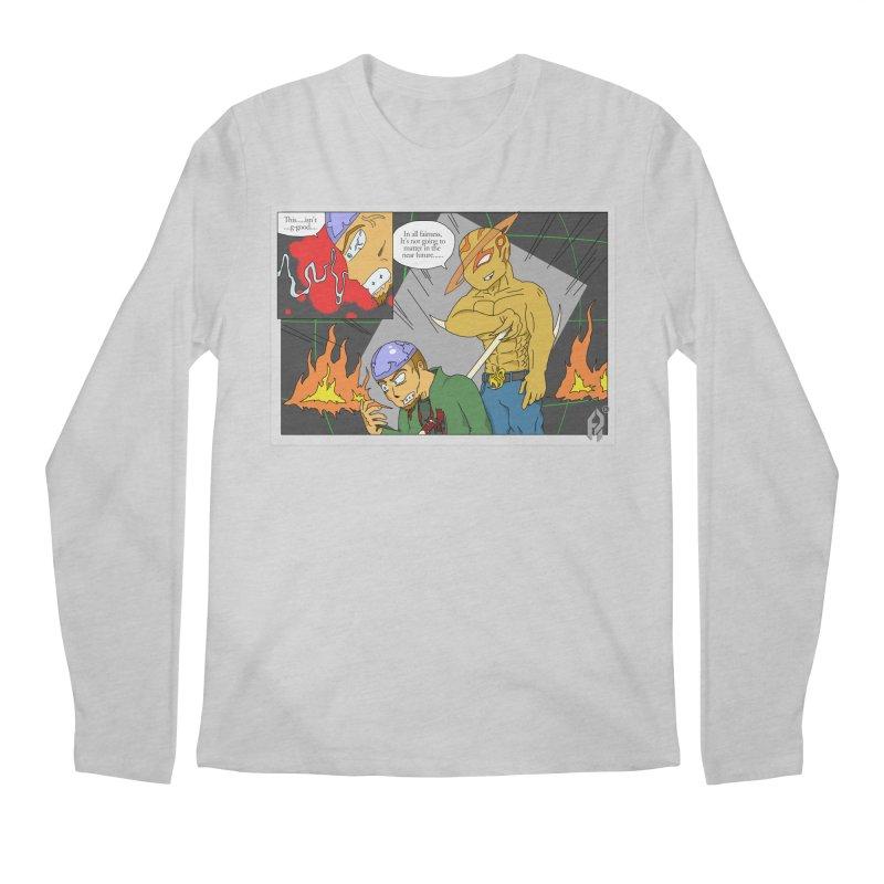 Ensurance: Eternal Grief. Ep.1. Men's Regular Longsleeve T-Shirt by Shadeprint's Artist Shop