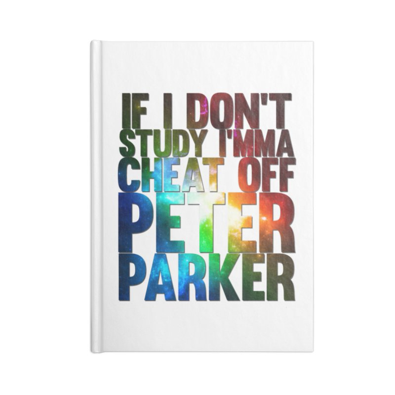 If I don't study (Never Dead Lyrics) Accessories Blank Journal Notebook by Shadeprint's Artist Shop