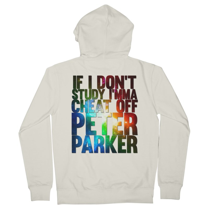 If I don't study (Never Dead Lyrics) Men's French Terry Zip-Up Hoody by Shadeprint's Artist Shop
