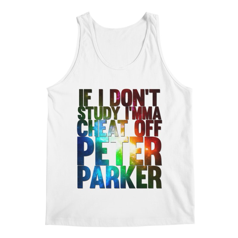 If I don't study (Never Dead Lyrics) Men's Regular Tank by Shadeprint's Artist Shop