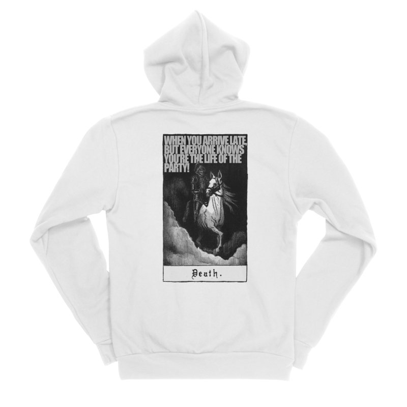 Hold my steed Women's Zip-Up Hoody by Shadeprint's Artist Shop