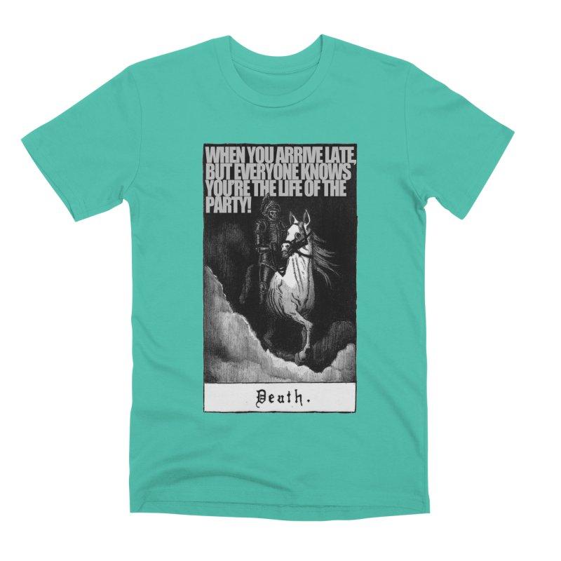 Hold my steed Men's Premium T-Shirt by Shadeprint's Artist Shop