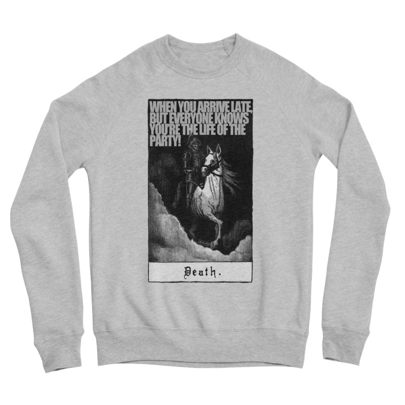 Hold my steed Women's Sponge Fleece Sweatshirt by Shadeprint's Artist Shop