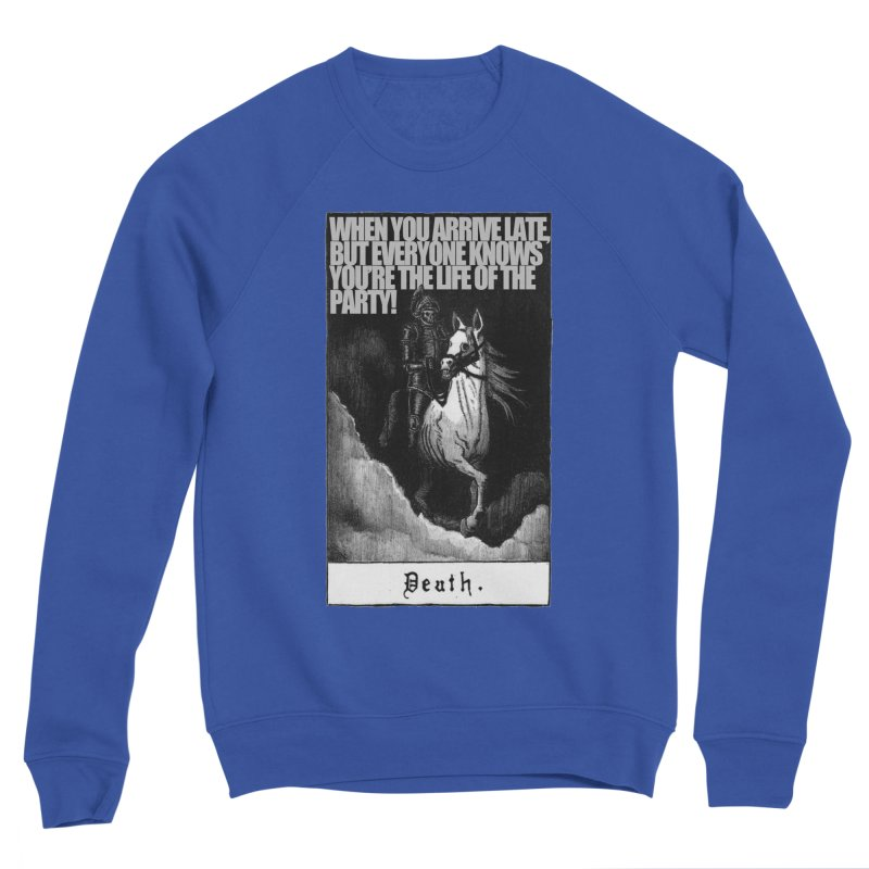 Hold my steed Men's Sponge Fleece Sweatshirt by Shadeprint's Artist Shop