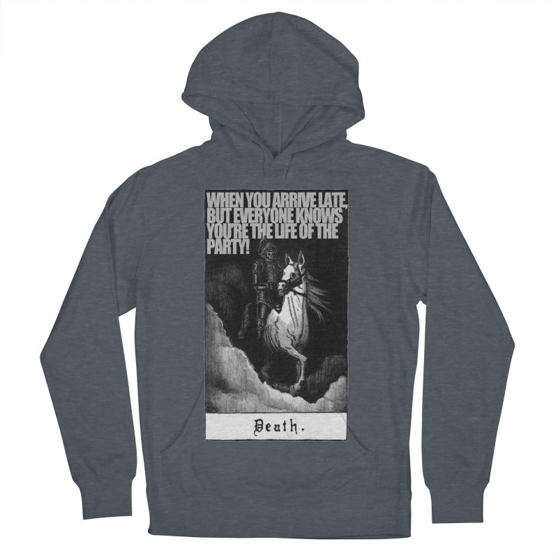 Hold my steed Men's French Terry Pullover Hoody by Shadeprint's Artist Shop