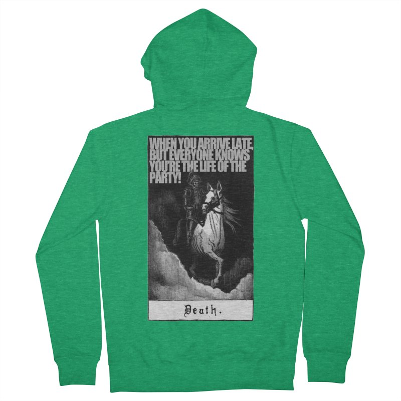 Hold my steed Men's Zip-Up Hoody by Shadeprint's Artist Shop