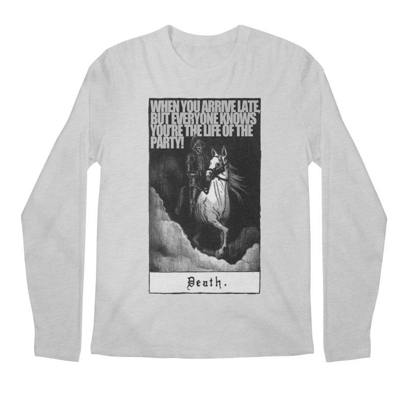 Hold my steed Men's Regular Longsleeve T-Shirt by Shadeprint's Artist Shop
