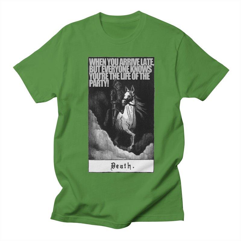 Hold my steed Men's Regular T-Shirt by Shadeprint's Artist Shop