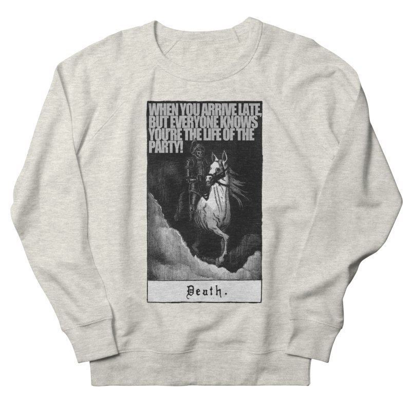Hold my steed Women's Sweatshirt by Shadeprint's Artist Shop
