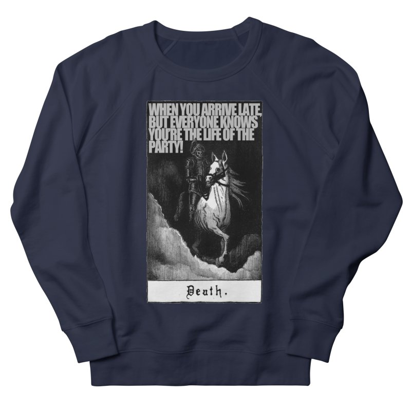 Hold my steed Men's Sweatshirt by Shadeprint's Artist Shop