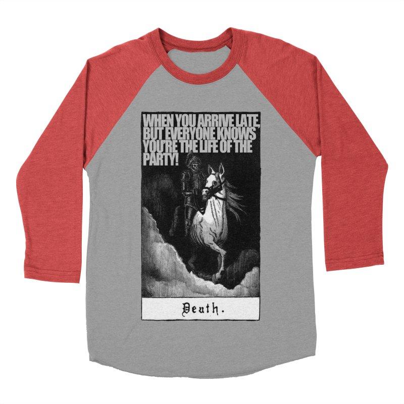Hold my steed Men's Baseball Triblend Longsleeve T-Shirt by Shadeprint's Artist Shop