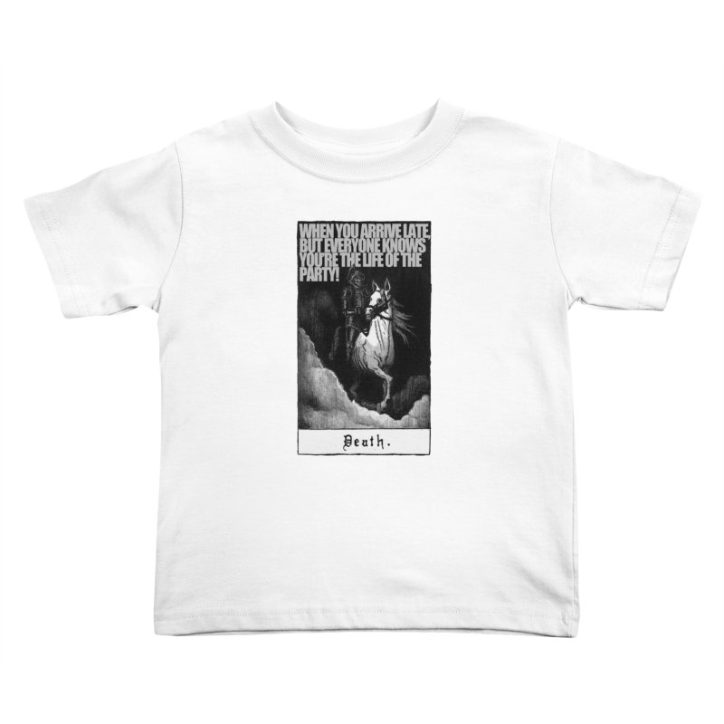 Hold my steed Kids Toddler T-Shirt by Shadeprint's Artist Shop