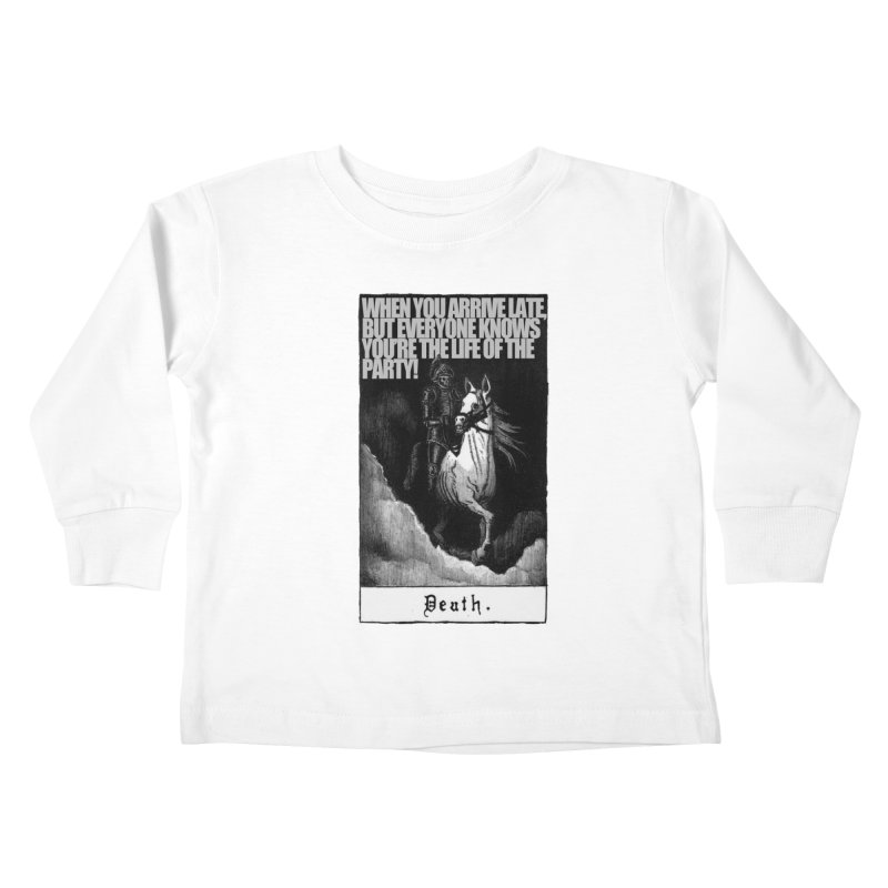 Hold my steed Kids Toddler Longsleeve T-Shirt by Shadeprint's Artist Shop