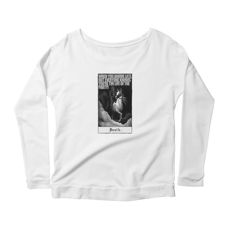 Hold my steed Women's Longsleeve T-Shirt by Shadeprint's Artist Shop