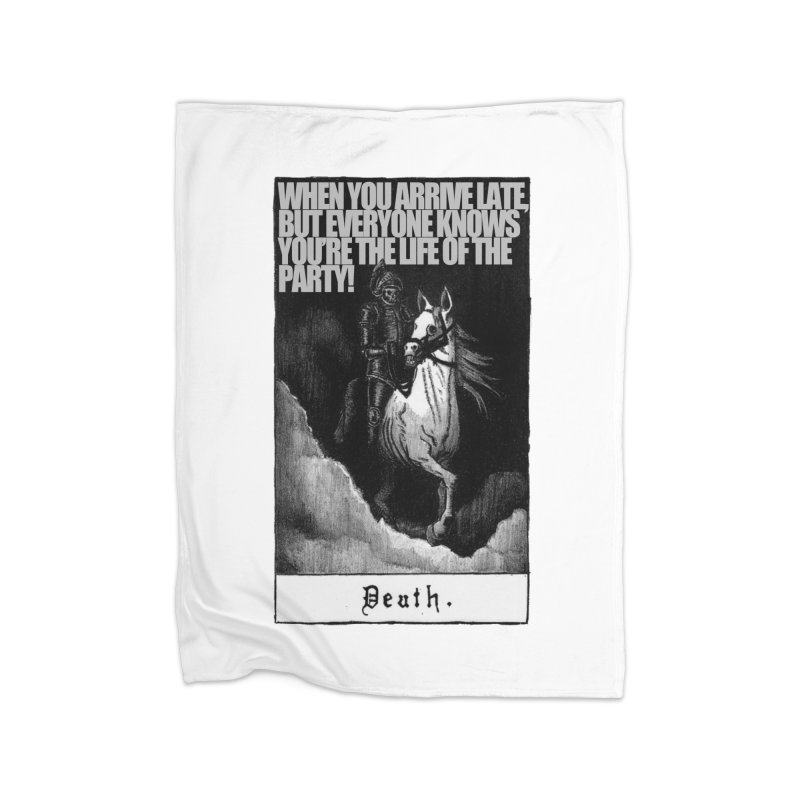 Hold my steed Home Blanket by Shadeprint's Artist Shop