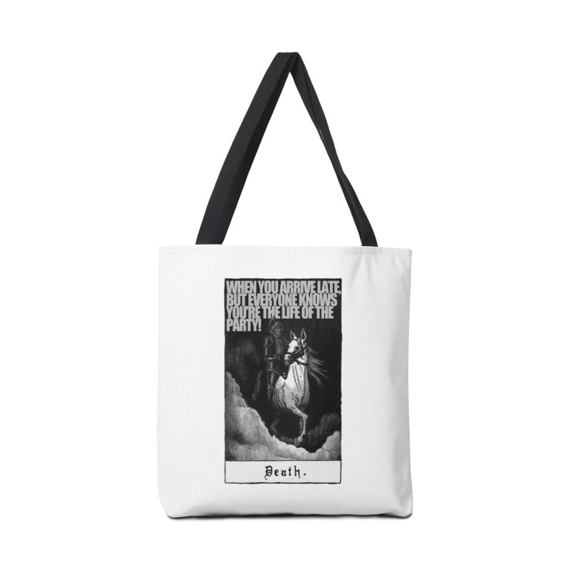 Hold my steed Accessories Tote Bag Bag by Shadeprint's Artist Shop