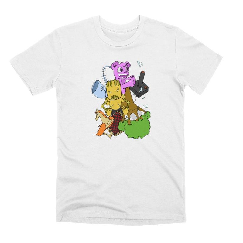Boom-Box Clap! Men's Premium T-Shirt by Shadeprint's Artist Shop