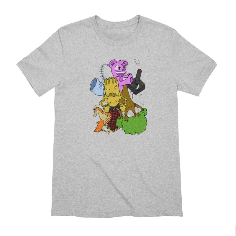 Boom-Box Clap! Men's Extra Soft T-Shirt by Shadeprint's Artist Shop