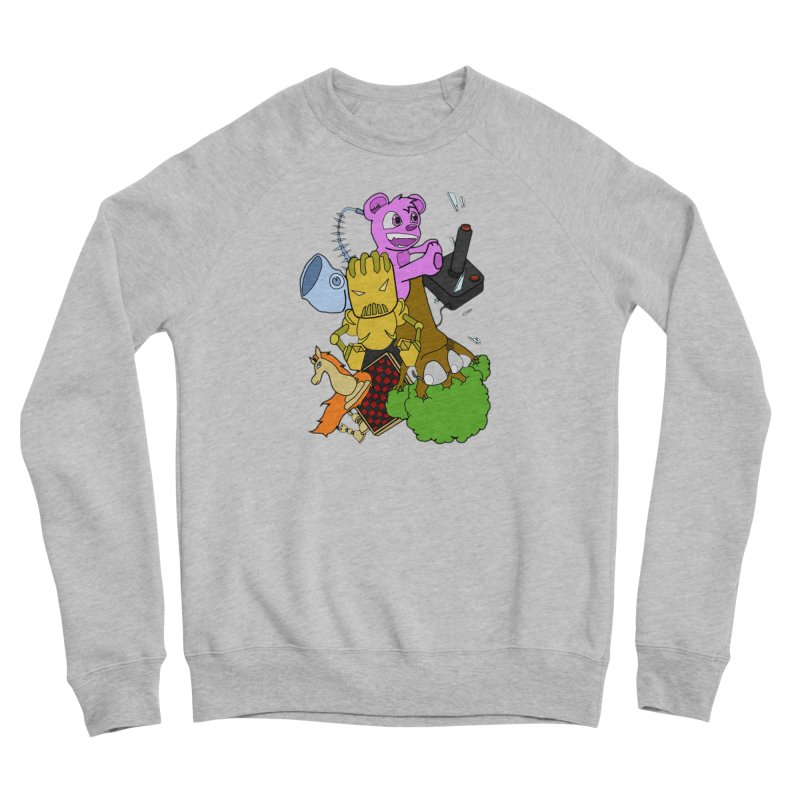 Boom-Box Clap! Women's Sponge Fleece Sweatshirt by Shadeprint's Artist Shop