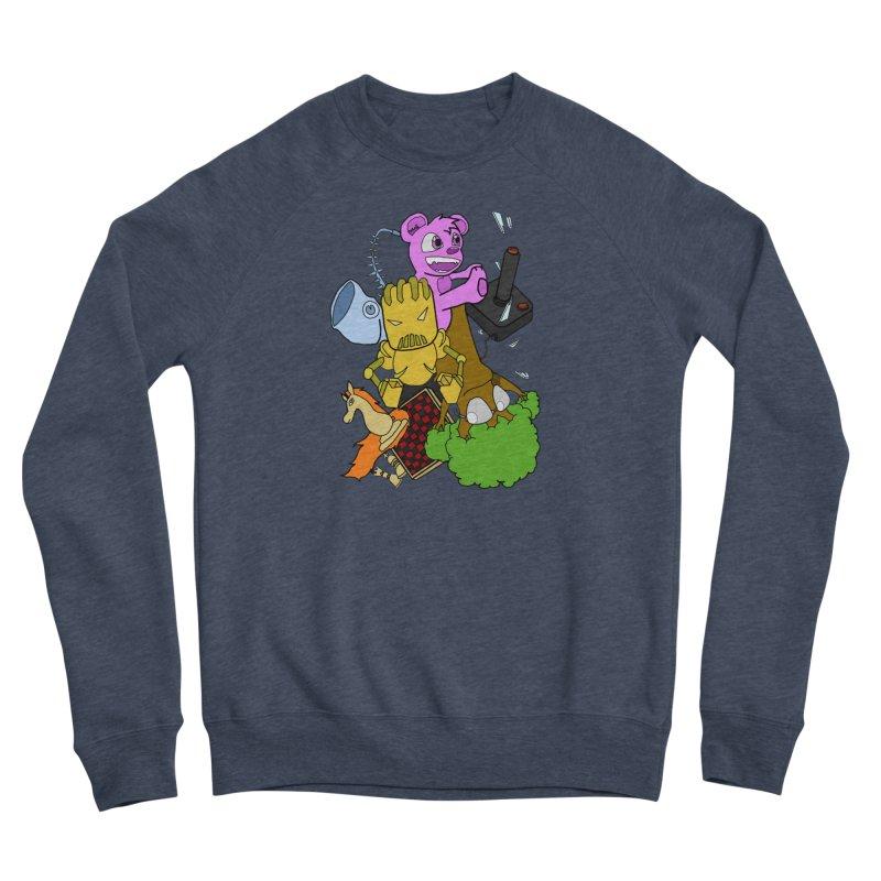 Boom-Box Clap! Men's Sponge Fleece Sweatshirt by Shadeprint's Artist Shop