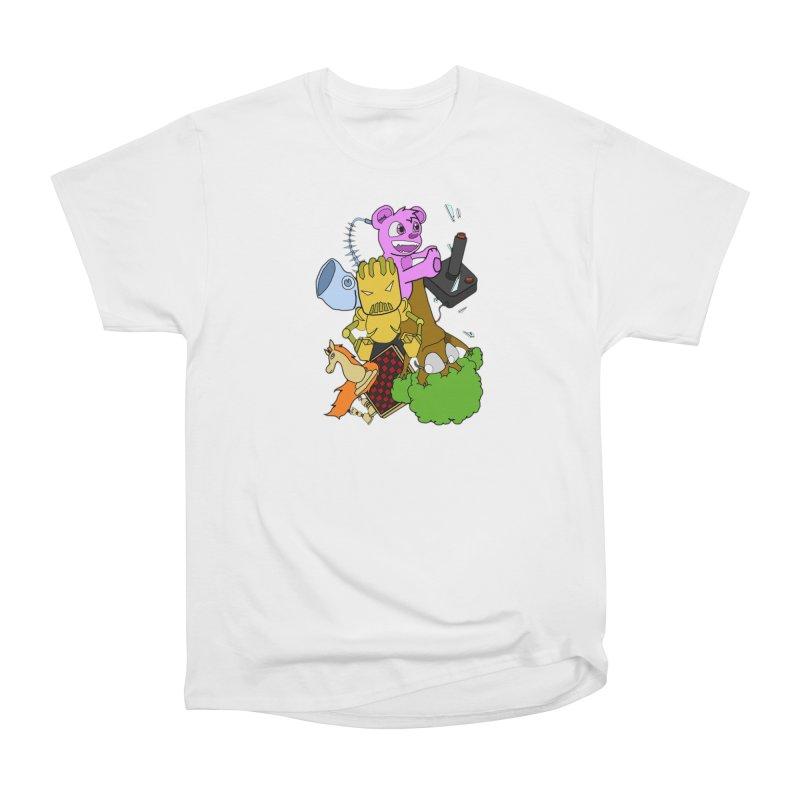 Boom-Box Clap! Men's Heavyweight T-Shirt by Shadeprint's Artist Shop