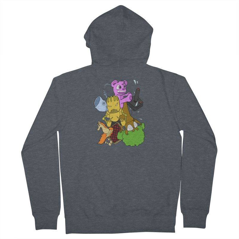 Boom-Box Clap! Women's French Terry Zip-Up Hoody by Shadeprint's Artist Shop