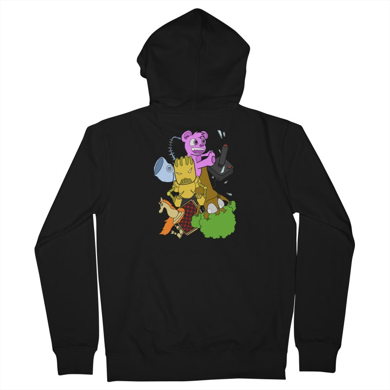 Boom-Box Clap! Men's French Terry Zip-Up Hoody by Shadeprint's Artist Shop