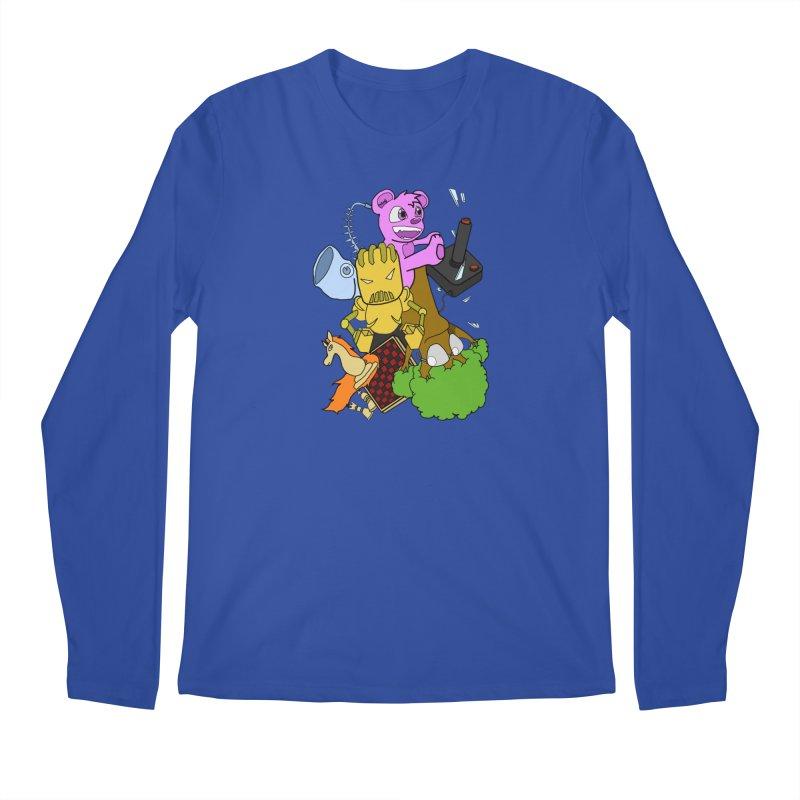 Boom-Box Clap! Men's Regular Longsleeve T-Shirt by Shadeprint's Artist Shop