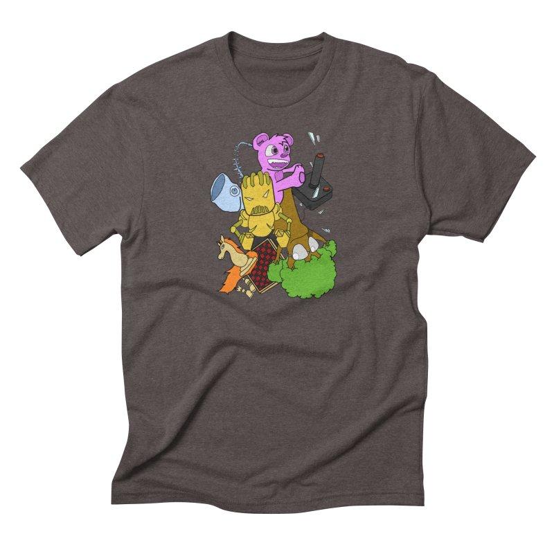 Boom-Box Clap! Men's Triblend T-Shirt by Shadeprint's Artist Shop