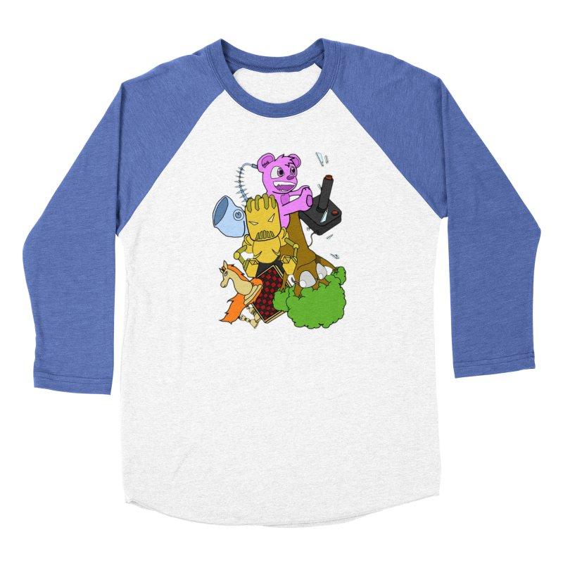 Boom-Box Clap! Women's Baseball Triblend Longsleeve T-Shirt by Shadeprint's Artist Shop