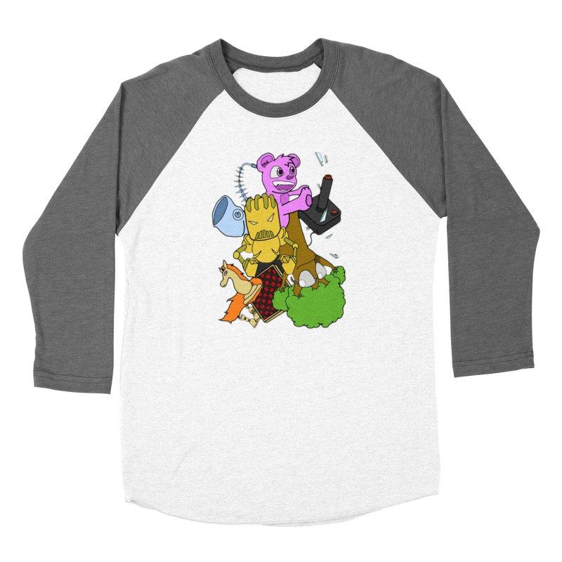 Boom-Box Clap! Men's Baseball Triblend Longsleeve T-Shirt by Shadeprint's Artist Shop