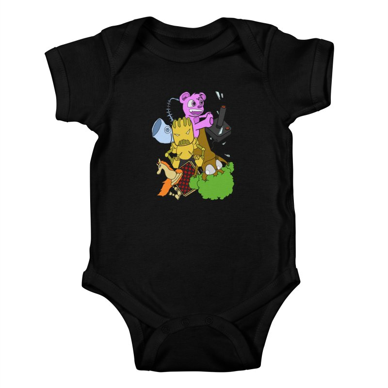 Boom-Box Clap! Kids Baby Bodysuit by Shadeprint's Artist Shop