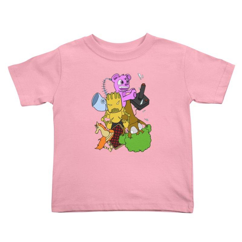 Boom-Box Clap! Kids Toddler T-Shirt by Shadeprint's Artist Shop