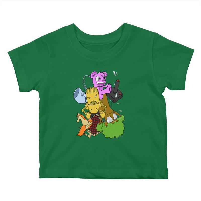 Boom-Box Clap! Kids Baby T-Shirt by Shadeprint's Artist Shop