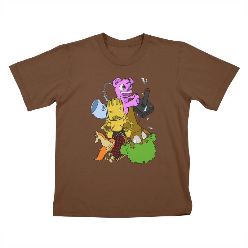 Boom-Box Clap! Kids T-Shirt by Shadeprint's Artist Shop