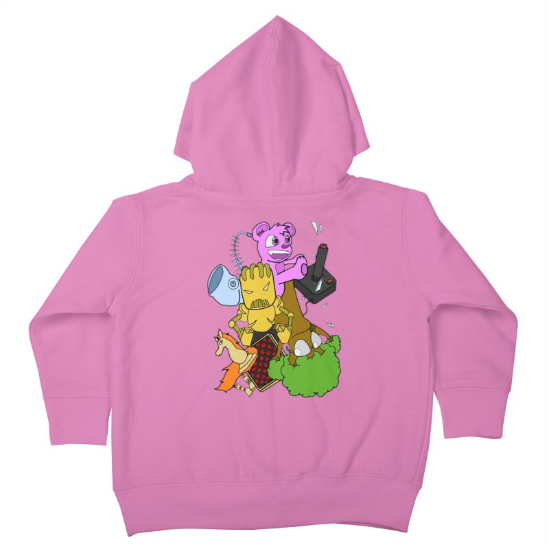 Boom-Box Clap! Kids Toddler Zip-Up Hoody by Shadeprint's Artist Shop