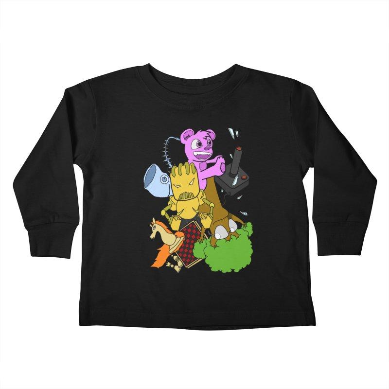 Boom-Box Clap! Kids Toddler Longsleeve T-Shirt by SHADEPRINT.DESIGN