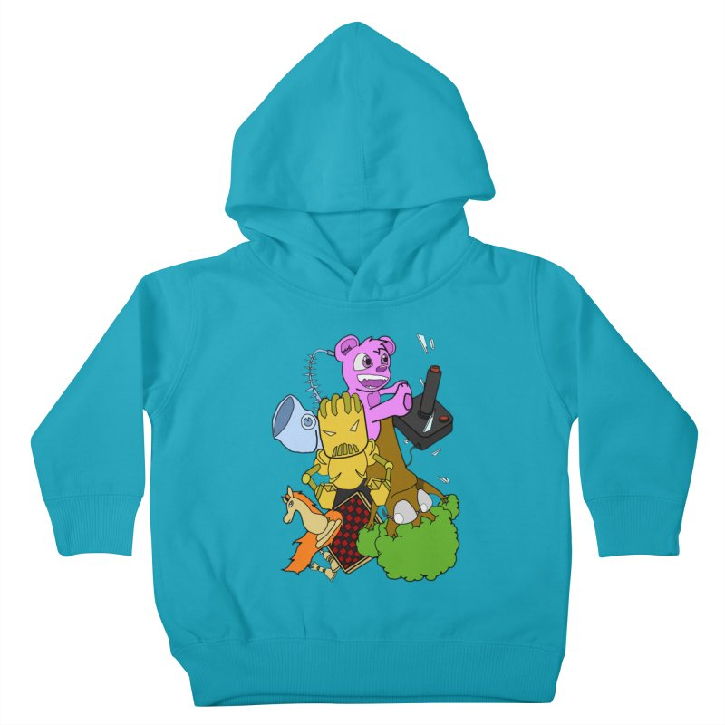 Boom-Box Clap! Kids Toddler Pullover Hoody by Shadeprint's Artist Shop