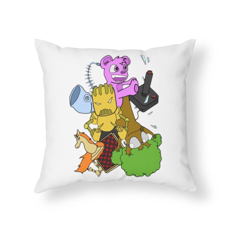 Boom-Box Clap! Home Throw Pillow by Shadeprint's Artist Shop